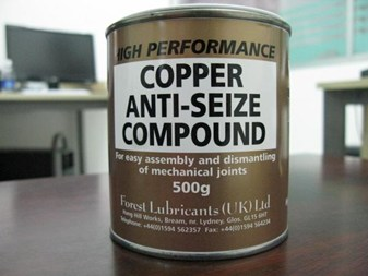 Copper Anti Seize Compound