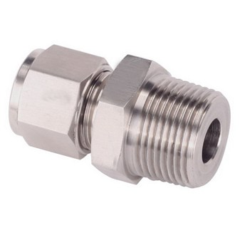 Stainless Steel Male Connector Swagelok Fittings